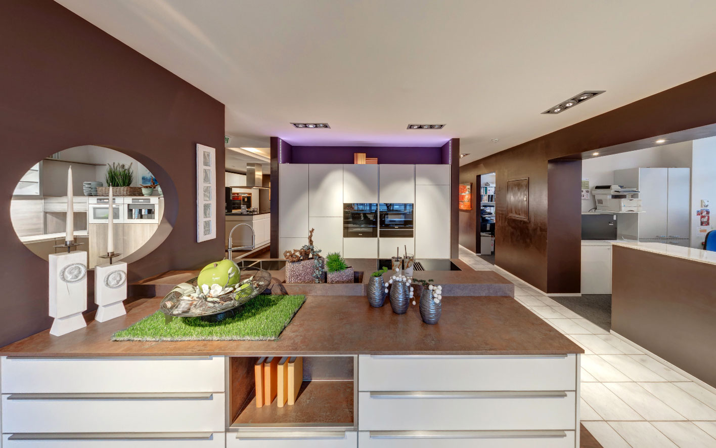 360 Grad Panoramatour Küchenstudio