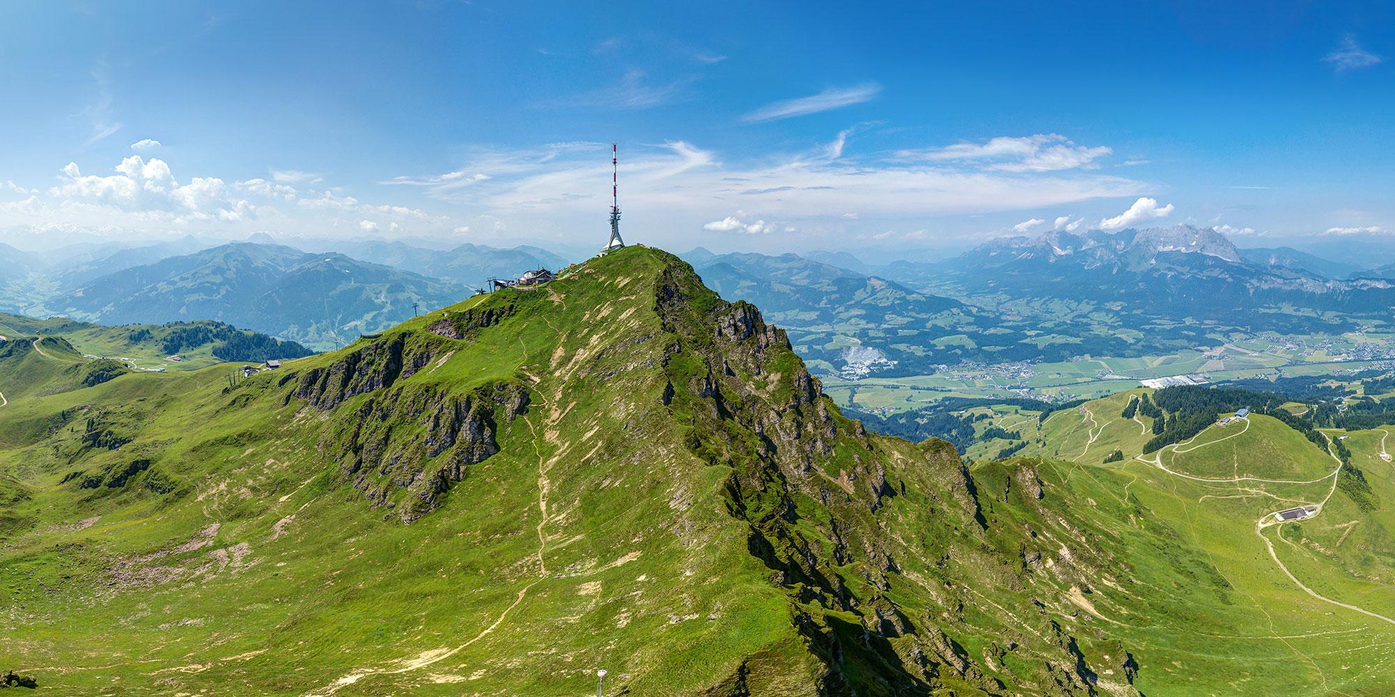 360° Panorama KITZBÜHELER HORN Kitzbühel