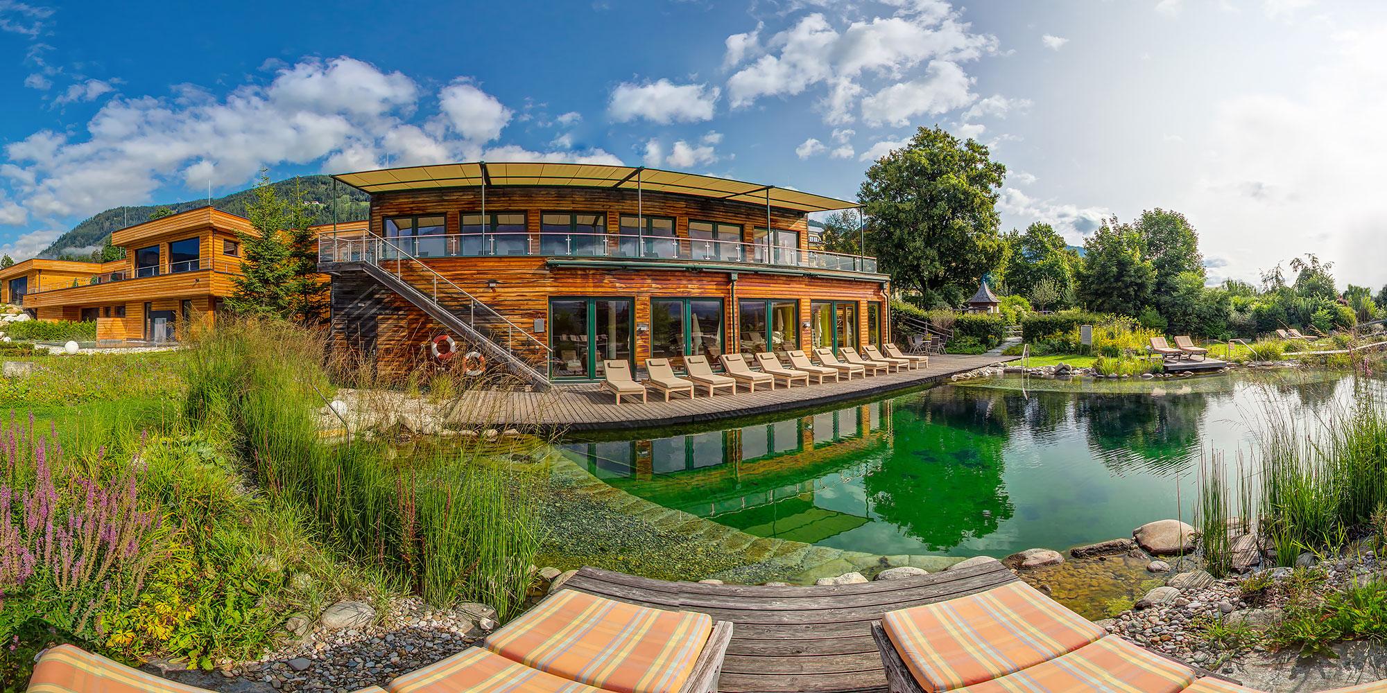 360° Panoramatour Wellnesshotel Eggerwirt im Lungau